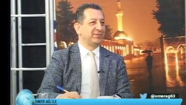 Elazığ'da depremin şiddeti canlı yayına böyle yansıdı