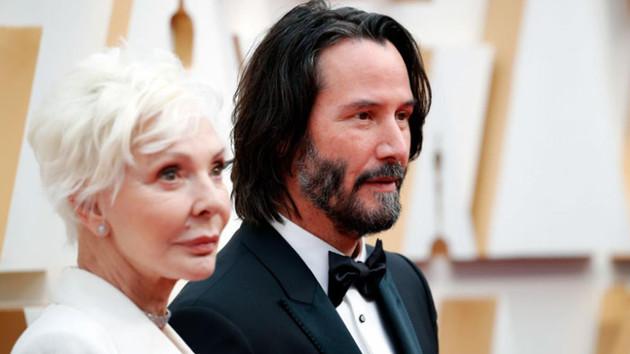 Keanu Reeves'in annesini kız arkadaşı sandılar