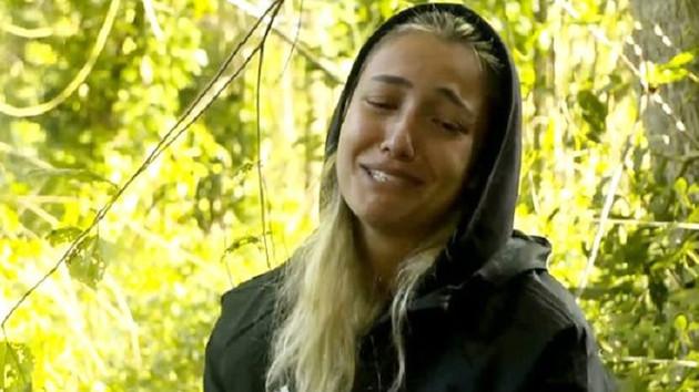 Açlığa dayanamayan Survivor yarışmacısı gözyaşlarına boğuldu: Annem görmesin