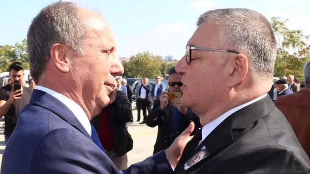 Belediye Başkanı Kesimoğlu, Muharrem İnce'ye kafa mı attı?
