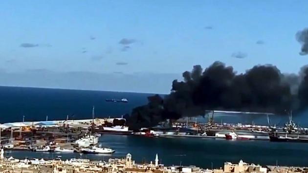 Hafter'den Son Dakika Açıklaması: Türk gemisini vurduk
