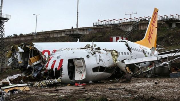 Kaza yapan uçağın kaptan pilotu tutuklandı