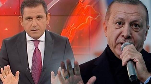 Fatih Portakal'dan Erdoğan'a yalan haber yanıtı