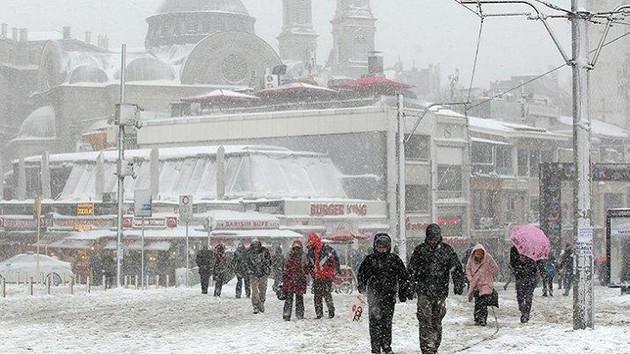 Kar İstanbul'a geliyor! 11 derece birden soğuyacak…