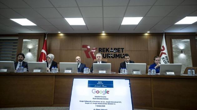 Google Rekabet Kurumu'nda sözlü savunma yaptı