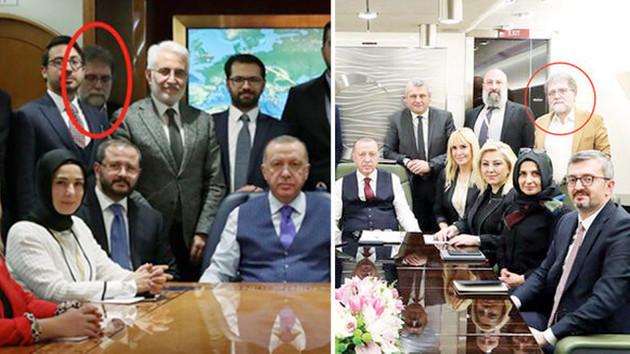 Ahmet Hakan: Erdoğan'ın uçağında fotoğraf çekilirken görünmek için öne atıldım, bağıran ceket giydim