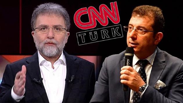 Ahmet Hakan'dan İmamoğlu'na tepki: CHP rozetini çıkarmamış