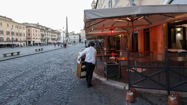 İtalya'da tüm restoranlar kapalı: Pizza bile yok