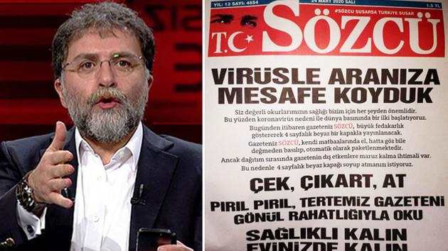 Hürriyet'ten Sözcü'ye: Neymiş, gazete kapağı atılacakmış, saçma sapan kurnazlık