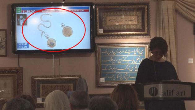 Abdülhamid'in saati rekor ücrete satıldı demişlerdi ama…