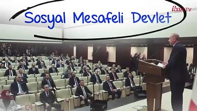 Saadet Partisi Erdoğan'ı IBAN TV ile vurdu