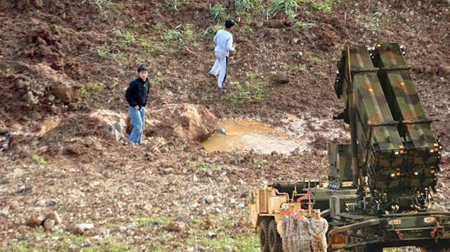 Esad füze attı, patriot çalışmadı