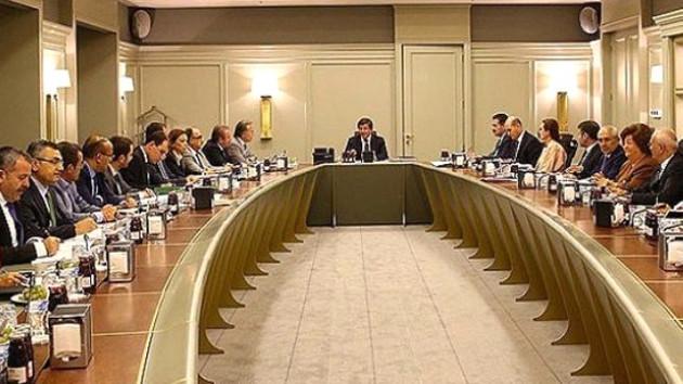 AKP'de MYK toplantısı sona erdi!