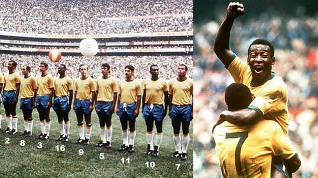 Dünya Kupası tarihinin en müthiş 10 Brezilyalı futbolcusu