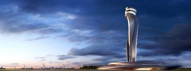 3. Havalimanı kulesi lale şeklinde olacak