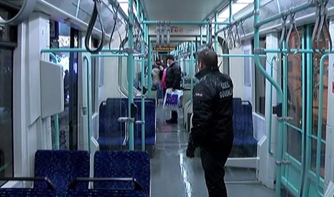 Bağcılar-Kabataş tramvayında bomba alarmı