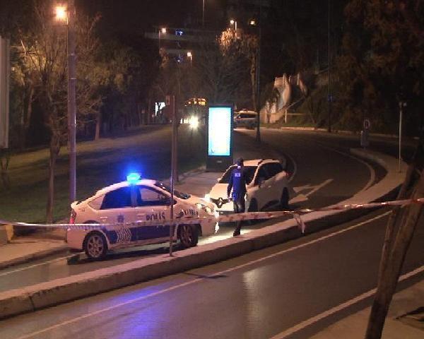 Dolmabahçe'de canlı bomba şüphelisini polis vurdu