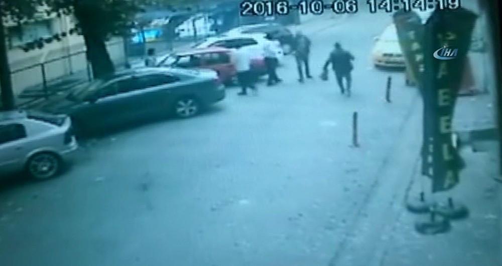 Yenibosna'daki patlama anı kamerada