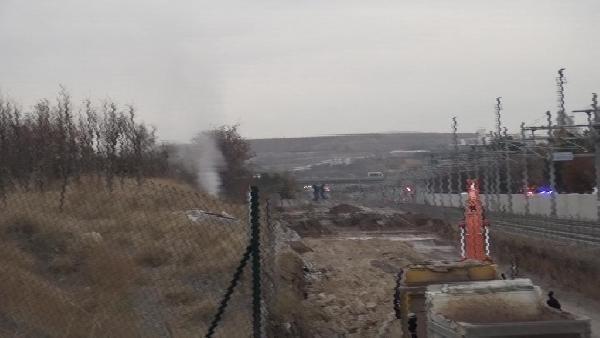 Ankara'da büyük panik! Doğal gaz hattı delindi