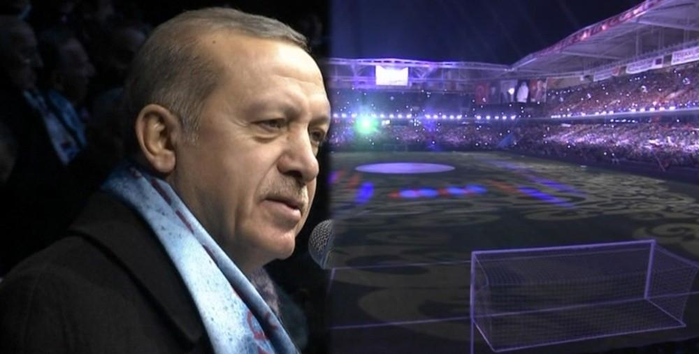 Erdoğan stadın ismini açıkladı
