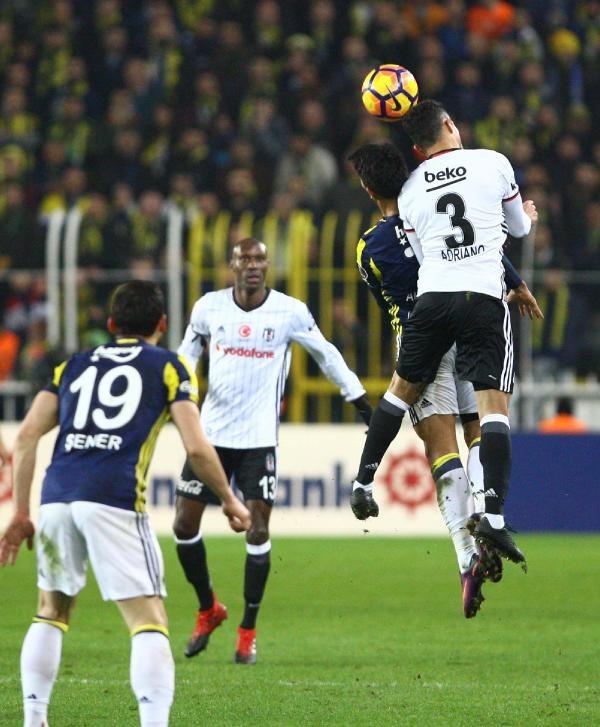 Fenerbahçe - Beşiktaş maçından çarpıcı fotoğraflar