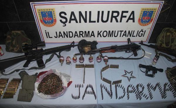Kobani'den Nusaybin'e giden YPG'nin 2 keskin nişancısı Suruç'ta yakalandı