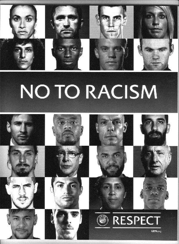Arda Turan, UEFA'nın ırkçılığa hayır sayfasında