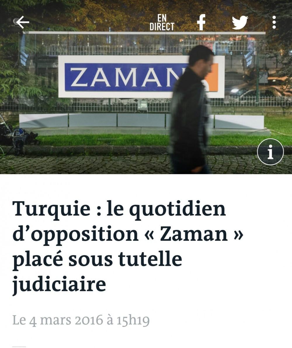 Le Monde'dan kayyum yorumu: Muhalif her ses susturuluyor