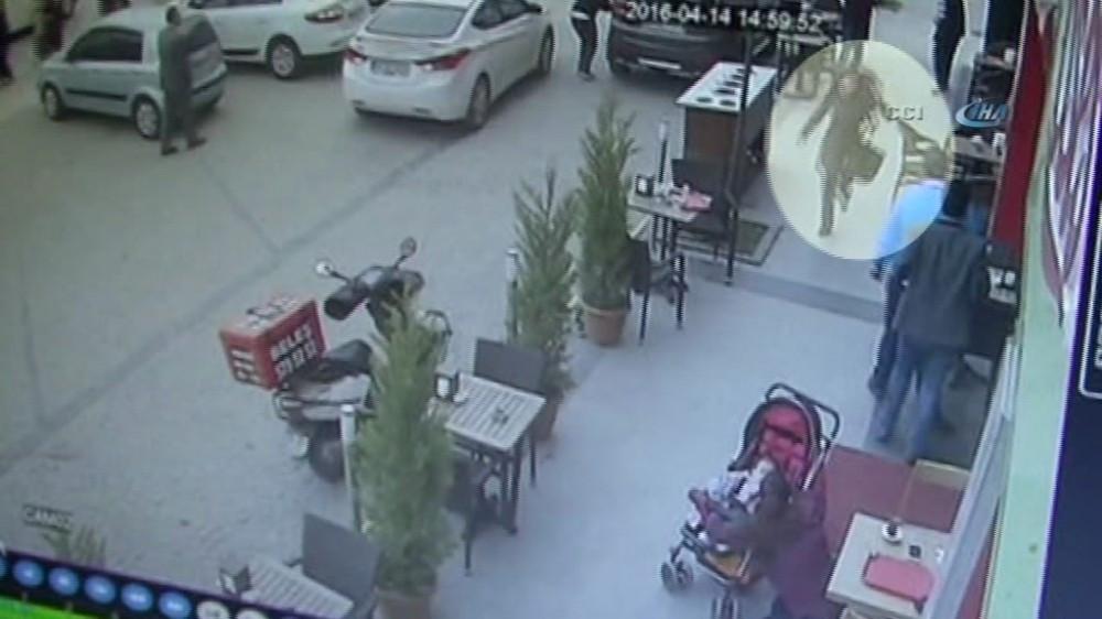 Şiddetten kaçarken balkona çıkan kadın böyle vuruldu