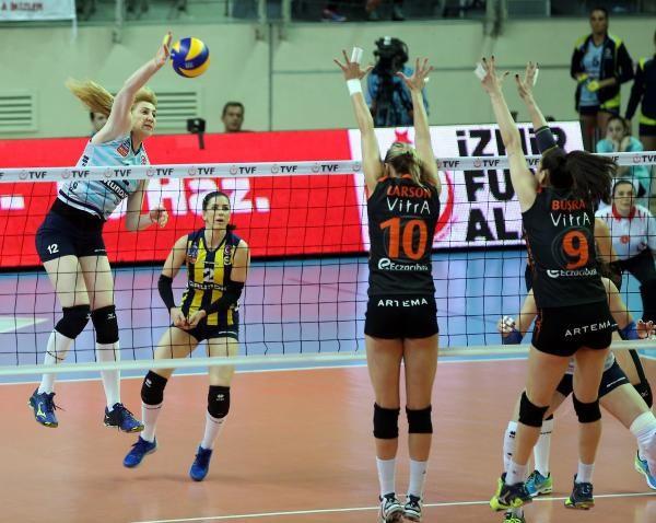 Eczacıbaşı Vitra- Fenerbahçe Grundig: 2-3