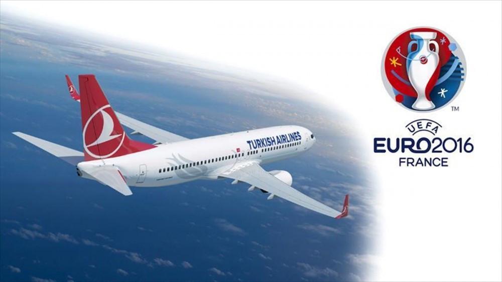 EURO 2016 maçları THY uçaklarında izlenebilecek