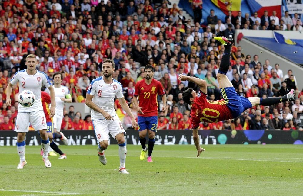 İspanya, Çek Cumhuriyeti'ni 1-0 yendi