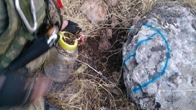 Lice'de bulunan bombalar daha önce görülmemişti