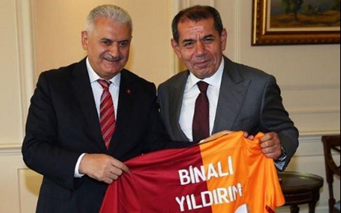 GS Başkanı Özbek'ten Başbakan Yıldırım'a sürpriz