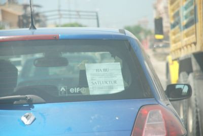 İlana mizah kattı, otomobilini daha pahalıya sattı