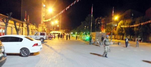 Kağızman'da polis merkezine roketatarlı saldırı