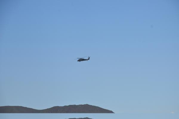 Tendürek Dağı'nda karadan ve havadan operasyon