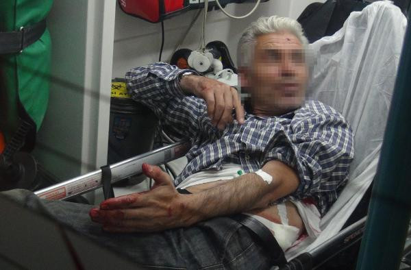 Bursa'da kocasının birlikte alkol aldığı arkadaşını bıçakladı
