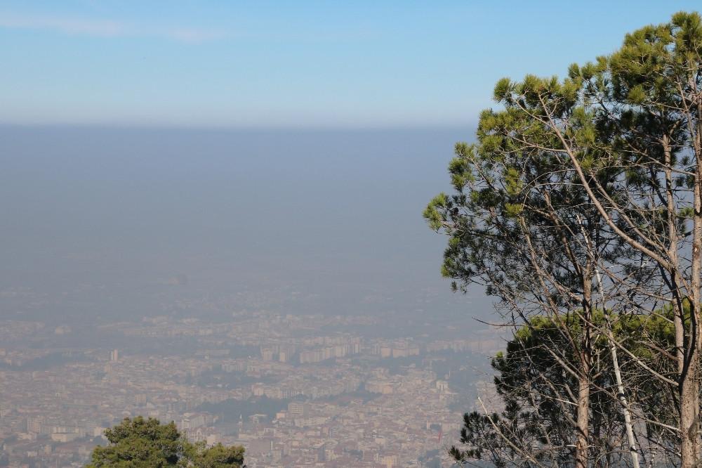 Bu kentte hava kirliliği alarm veriyor
