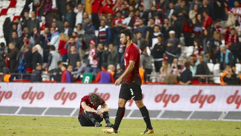 Türkiye hazırlık maçında Arnavutluk'a kaybetti