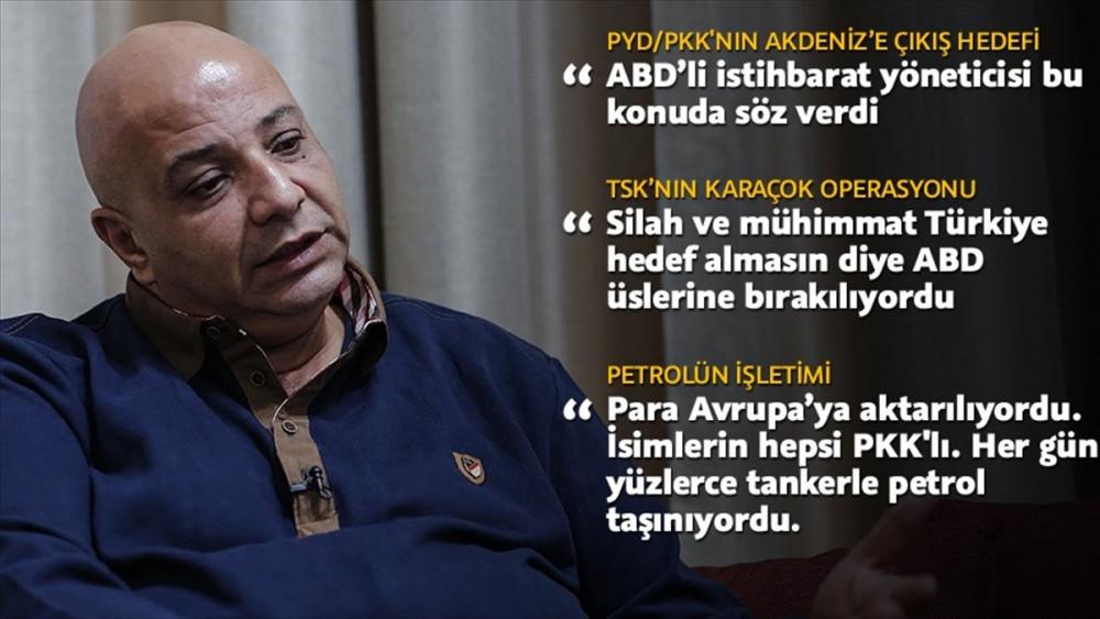 SDG'nin kaçan sözcüsü Silo, ABD'nin PYD/PKK'ya desteğini anlattı