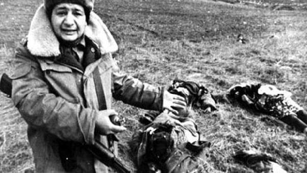 Hocalı Katliamı'nın 25. yıl dönümünde hayatını kaybedenler anıldı