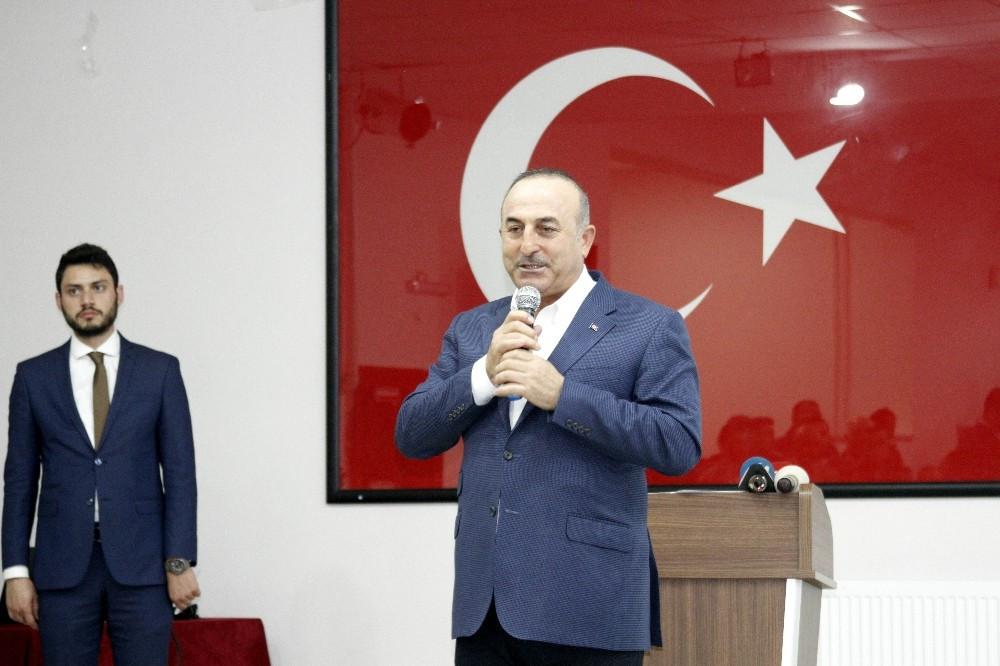 Bakan Çavuşoğlu'ndan o ilçelere doğalgaz müjdesi