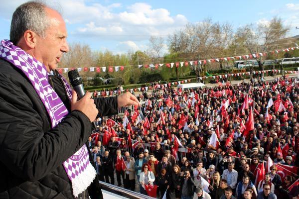 CHP'li İnce: Evet çıkarsa Bilal oğlan, hayır çıkarsa senin oğlan kazanacak