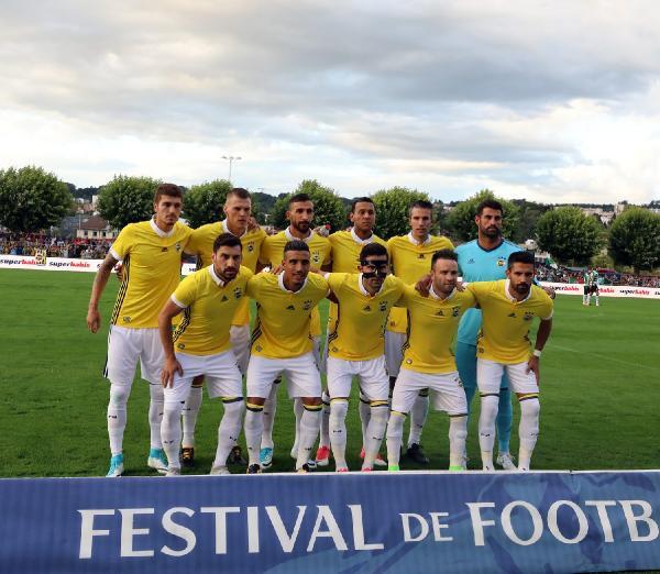 Fenerbahçe, Sporting Lisbon'a 2 - 1 yenildi