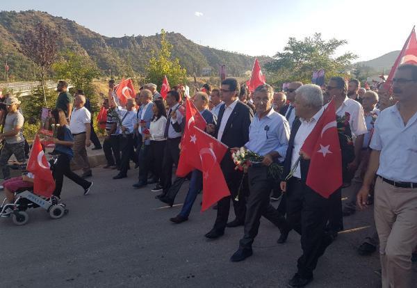 CHP'den Tunceli'de Necmettin öğretmeni anma yürüyüşü