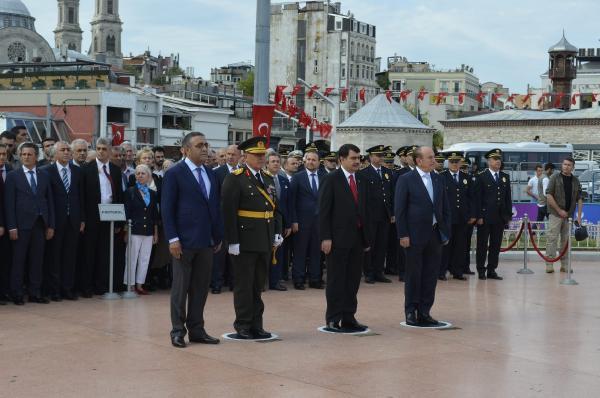 30 Ağustos Zafer Bayramı Taksim'de böyle kutlanıyor