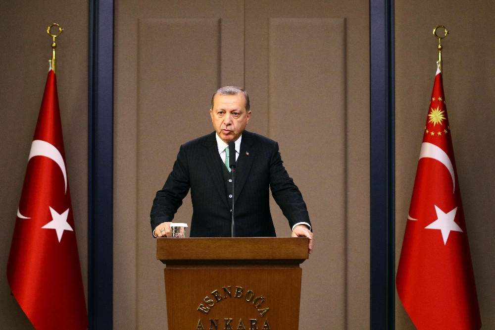 Erdoğan teröre Fırat Kalkanı'yla meydan okudu