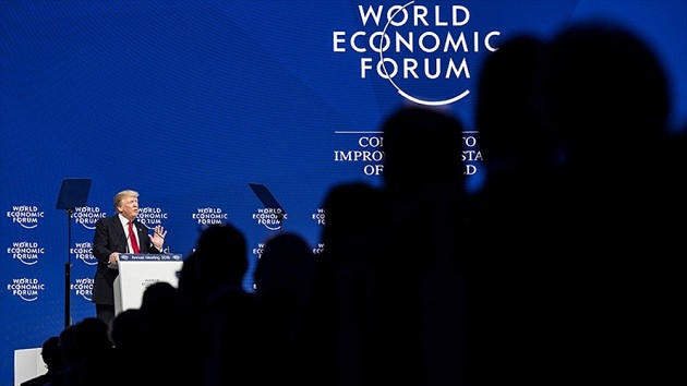 ABD Başkanı Trump Davos'ta yuhalandı