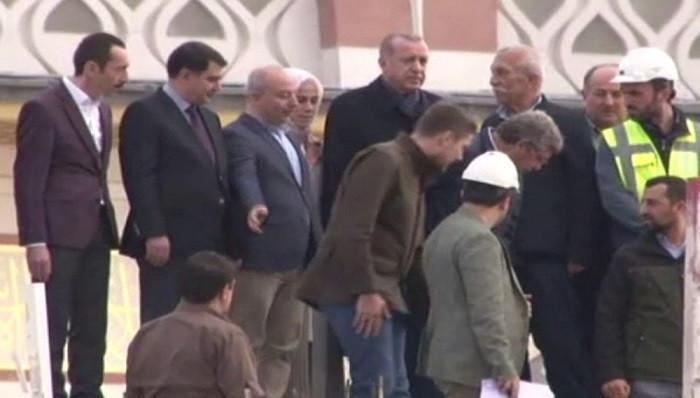 Cumhurbaşkanı Erdoğan Çamlıca Camii'nde
